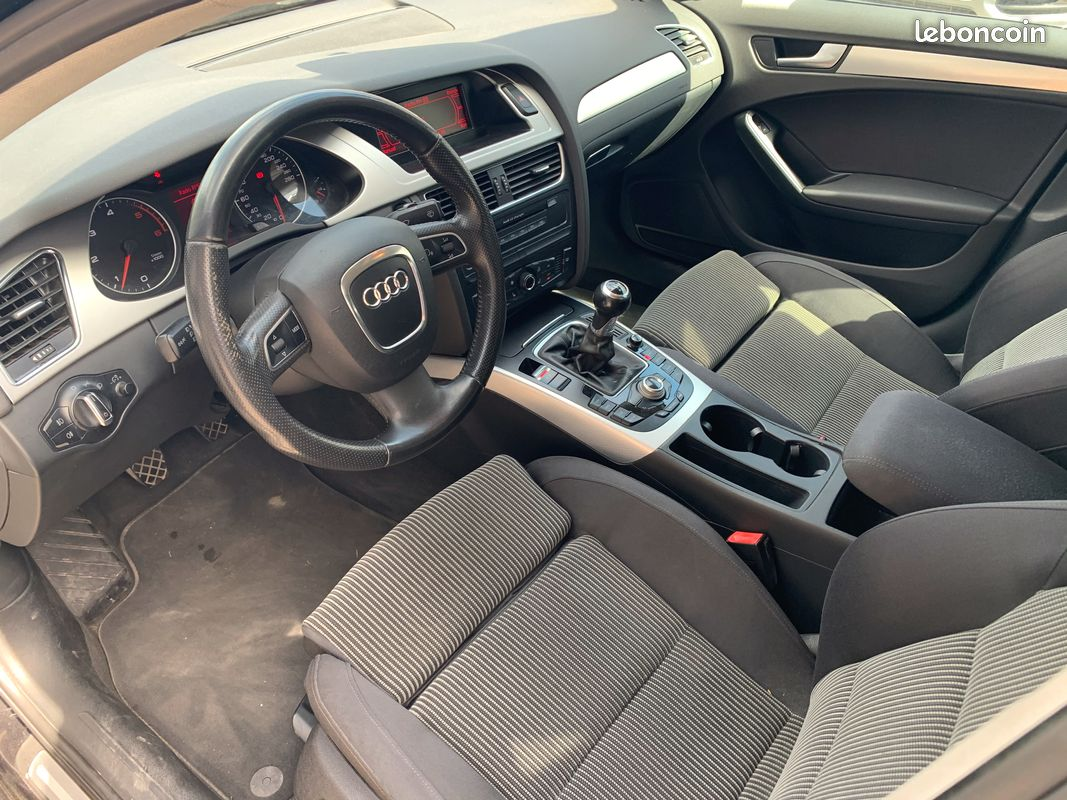 Audi A4 2.0 L TDI - 2008 noire-3